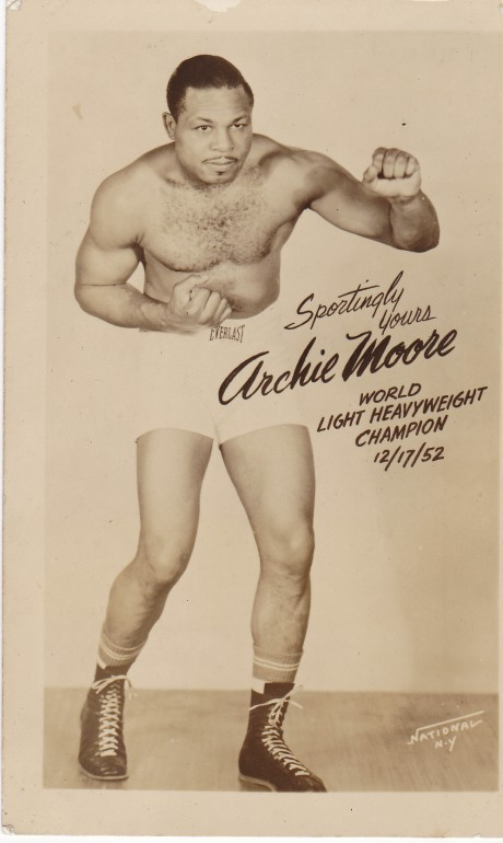 ARCHIE MOORE POST CARD