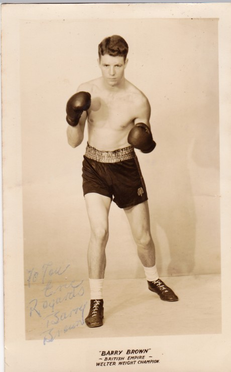 BARRY BROWN BOXED 1953-1958