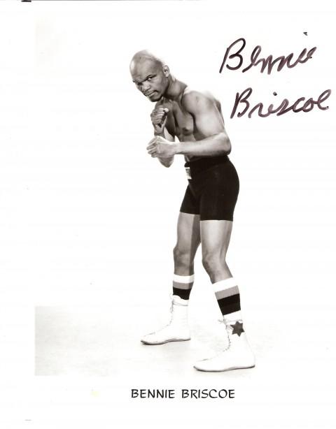 BENNIE BRISCO AUTOGRAPH