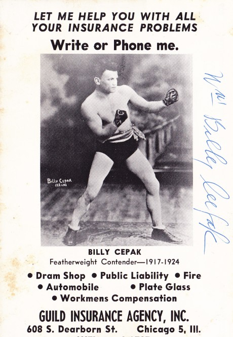 BILLY CEPAK BACK OFR PICTURE