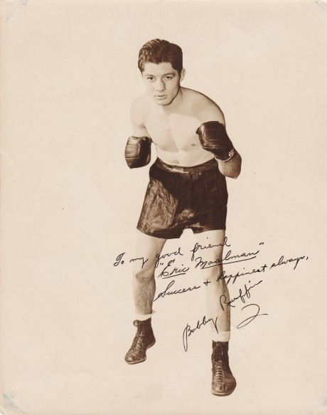BOBBY RUFIN BOXED 1938-1949 HAD 129 FIGHTS