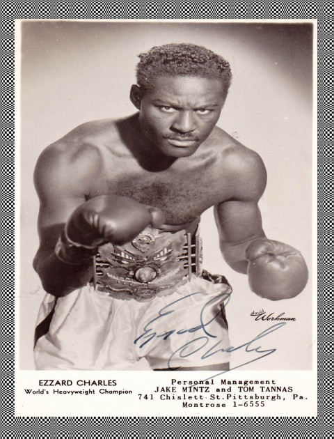Ezzard Charles #3 - African Ring