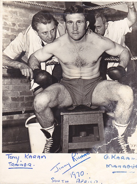 JIMMY RICHARDS SIG BACK PLUS TONY AND GOERGE KARAM