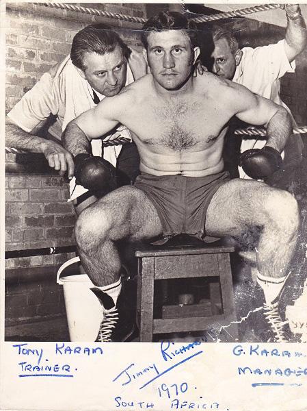 JIMMY RICHARDS SIG BACK PLUS TONY AND GOERGE KARAM