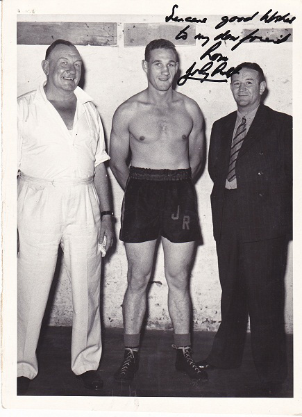 LEN McGLAGLEN, JONNY RALPH AND LEN HOLDSTOCH