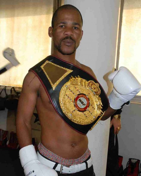 100. Simphiwi Nongqayi IBF Junior Bantamweight Champion 15 September 2009