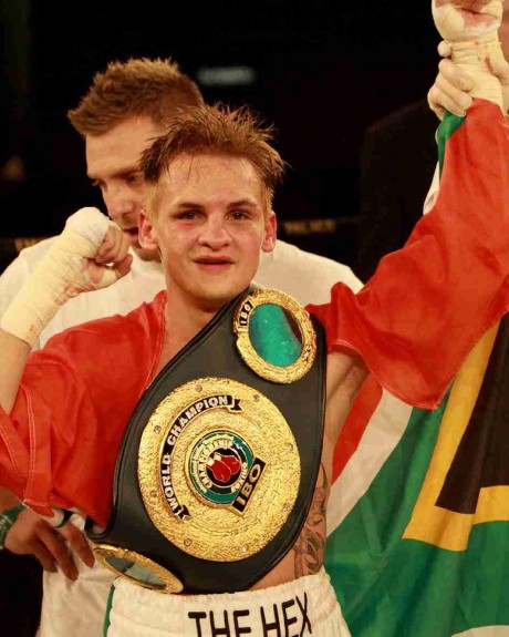 103. Hekkie Budler IBO Junior Flyweight Champion 27 February 2010