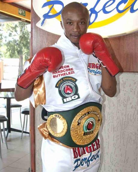 105. Gideon Buthelezi IBO Strawweight Champion 19 June 2010