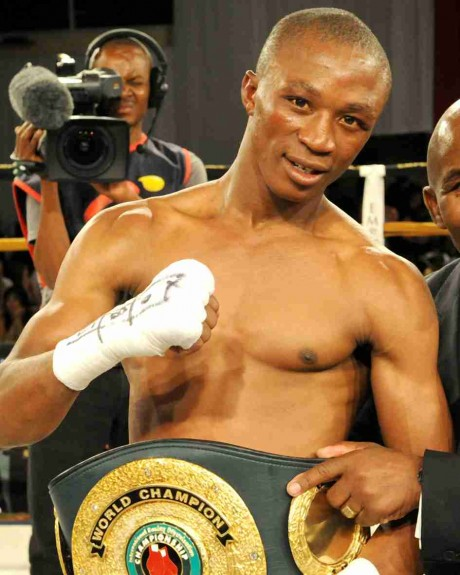 107. Gideon Buthelezi IBO Junior Flyweight Champion 27 January 2011