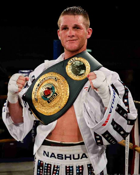 109. Thomas Oosthuizen IBO Super Middleweight Champion 26 March 2011