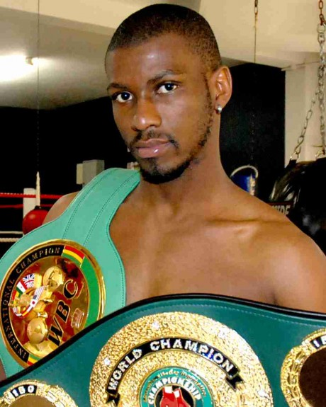116. Jeffrey Mathebula IBF Junior Featherweight Champion 24 March 2012