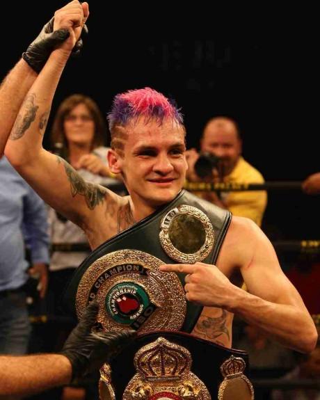 124. Hekkie Budler WBA Minimumweight Champion 1 March 2014