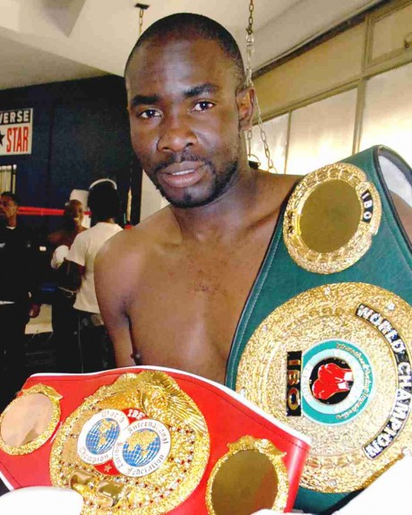 24. Cassius Baloyi Junior Featherweight Champion 15 November 1996