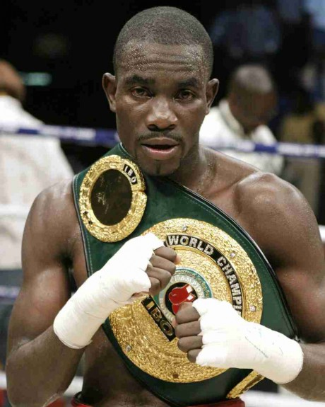 32. Cassius Baloyi WBU Featherweight 24 April 1998