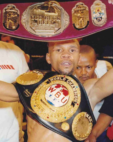 39. Masibulela Hawk Makepula WBU Junior Flyweight Champion 22 September 1998