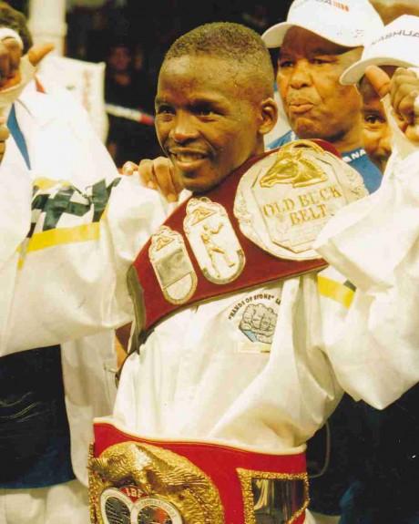 40. Lehlohonolo Ledwaba IBF Junior Featherweight Champion 29 May 1999