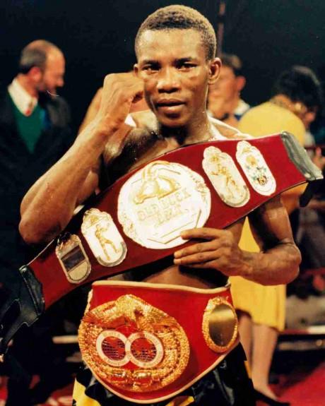 48. Mbulelo Botile IBF Featherrweight Champion 16 December 2000