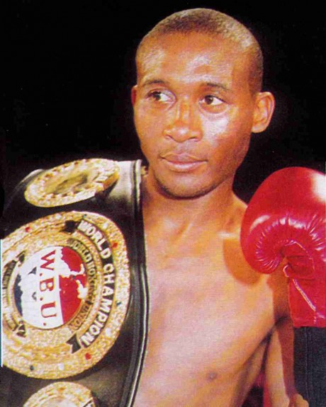58. Gabula Vabaza WBU Super Flyweight Champion 26 July 2002