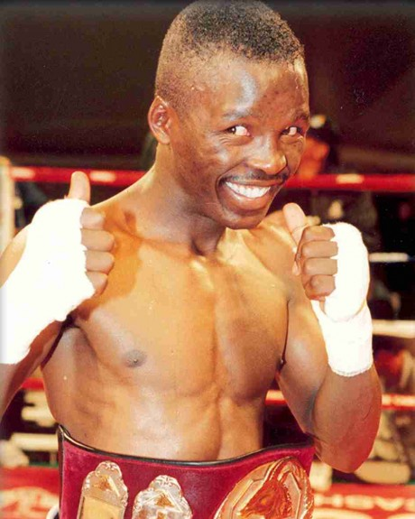 59. Lehlohonolo Ledwaba WBU Featherweight Champion 27 July 2002