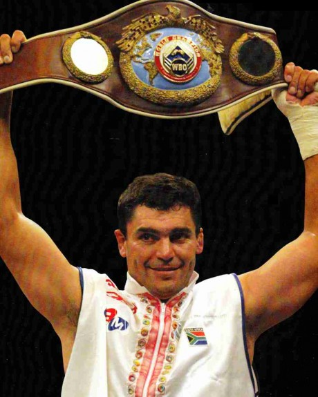 63. Corrie Sanders WBO heavyweight Champion 8 March 2003