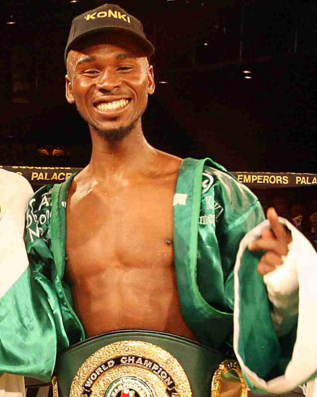 64. Zolani Marali IBO Junior Featherweight Champion 2003