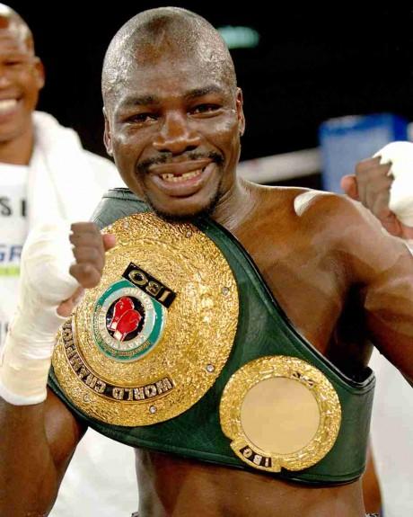 67. Thomas Mashaba IBO Junior Featherweight Champion 22 May 2004