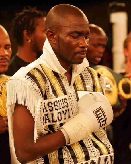 71. Cassius Baloyi IBF Junior Lightweight Champion 31 May 2006