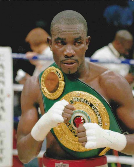 87. Cassius Baloyi IBF Junior Featherweight Champion 12 April 2008