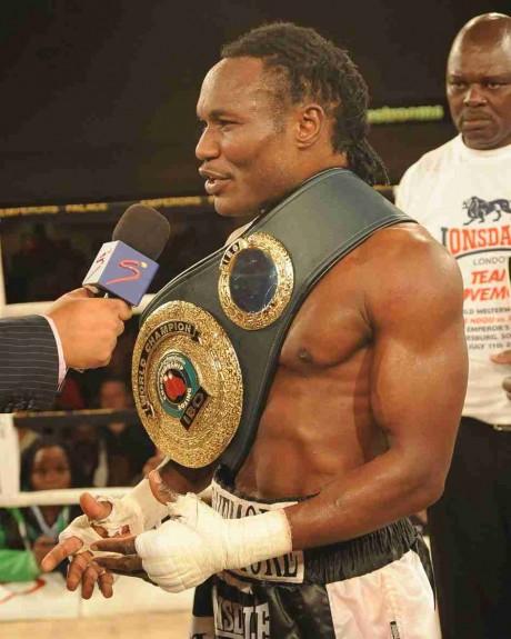 97. Lovemore Ndou IBO Welterweight Champion 11 July 2009