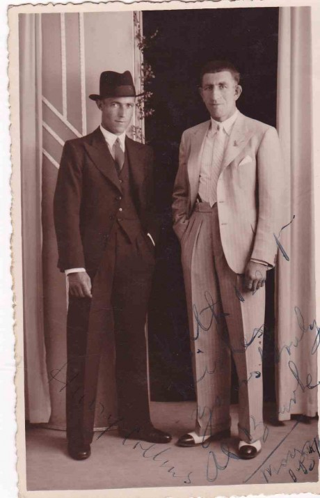 AL BOURK AND HARRY COLLINS 1937