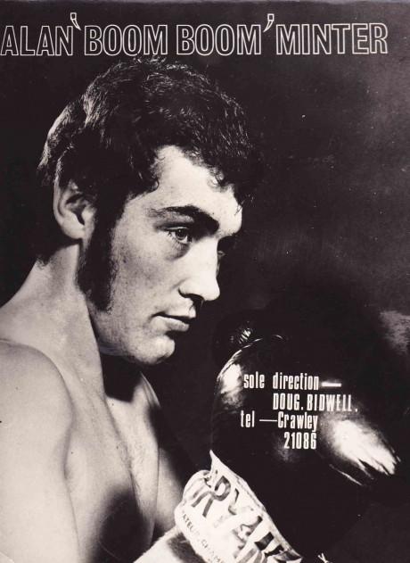 ALAN MINTER WBC AND WBA MIDDLE CHAMP