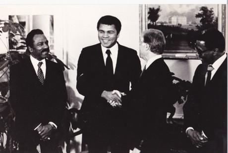 ALI MEETS JIMMY CARTER PHOTOGRAPHER UNKOWN TO ME
