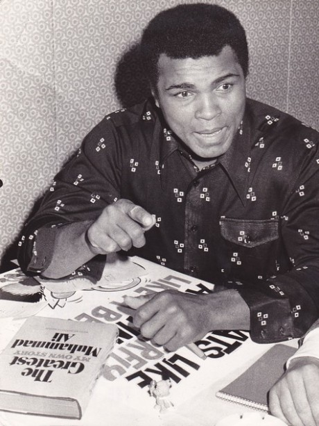 ALI THE GREATEST MY OWN STORY WIRE PHOTO