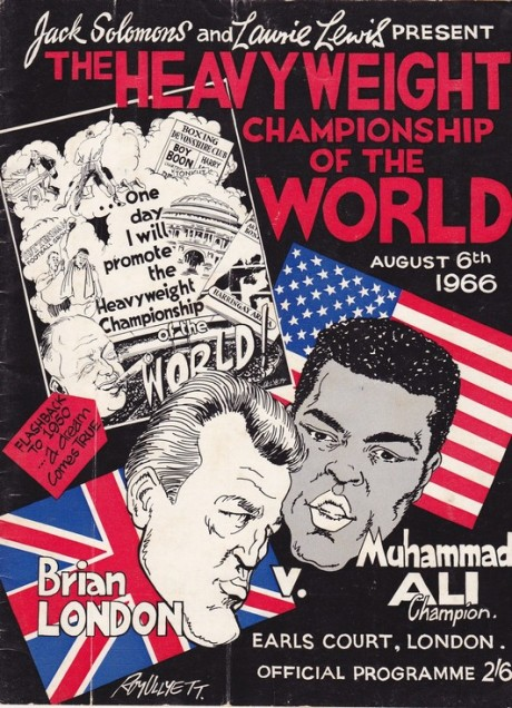 ALI V BRIAN LONDON  ON SITE PROGRAMME