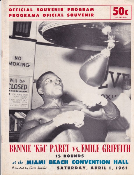 BENNIE KID PARET VS EMILE GRIFFITH
