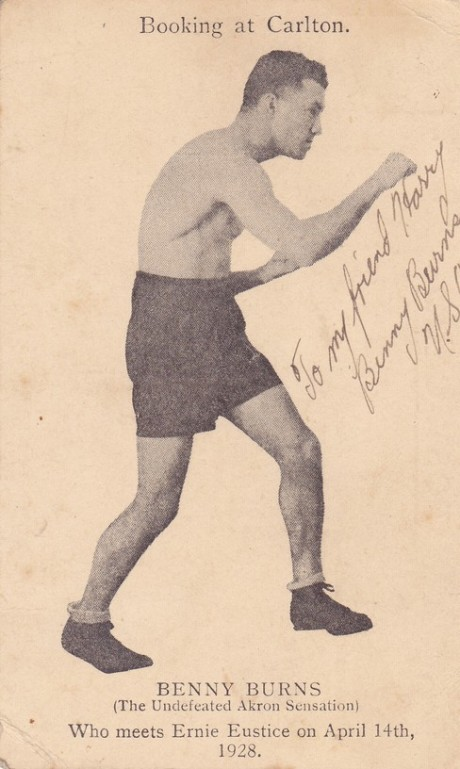 BENNY BURNS BOXED 1925-1932