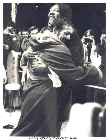 Bob Foster & Pierre Fourie Alberquerque
