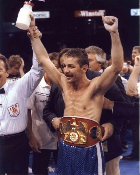 Brian Mitchell WBA Champion