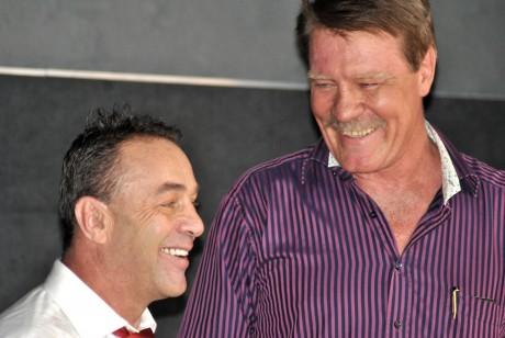 Brian Mitchell and Pierre Coetzer
