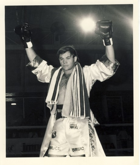 Bruce McIntyre SA Middleweight Champion