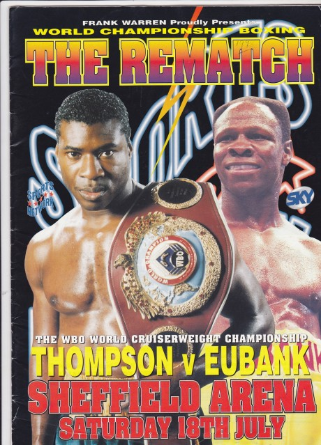 Carl Thompson Chris Eubank