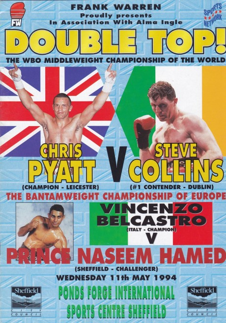 Chis Pyatt vs Steve Collins