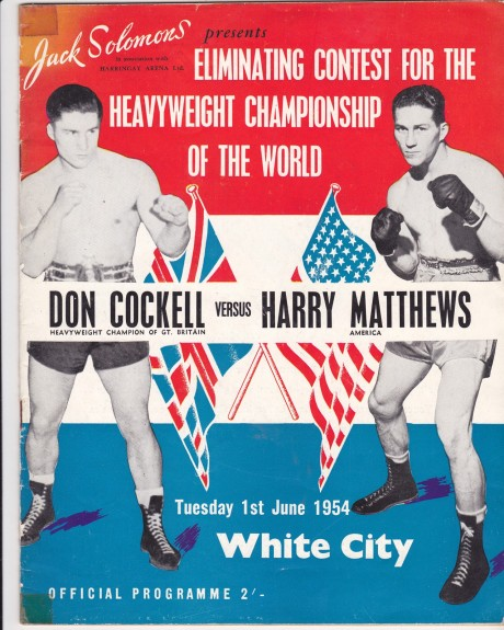 DON COCKELL VS HARRY MATHEWS