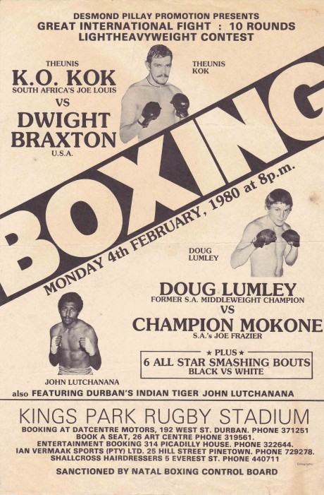 DOUG LUMLEY VS CHAMPION MOKONE