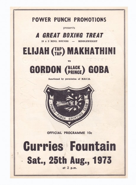 ELIJJAH MAKATHINI VS GORDON GOBA