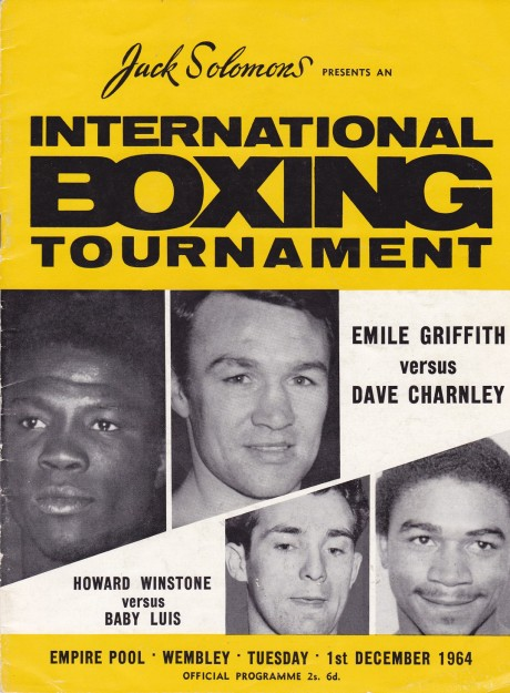 EMILE GRIFFITH VS DAVE CHARNEY