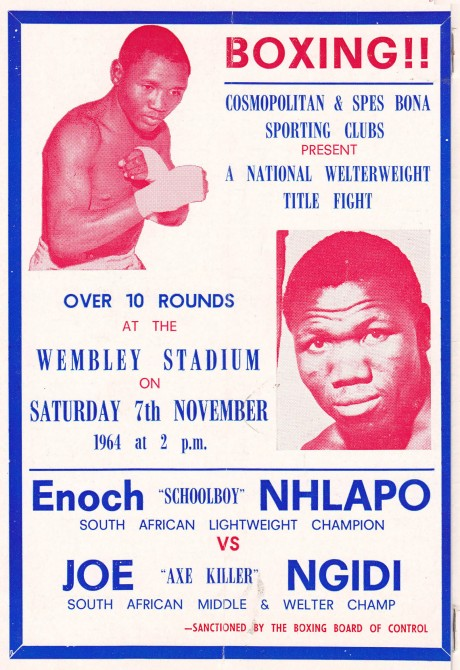 ENOCH NHLAPO VS JOE NGIDI 2