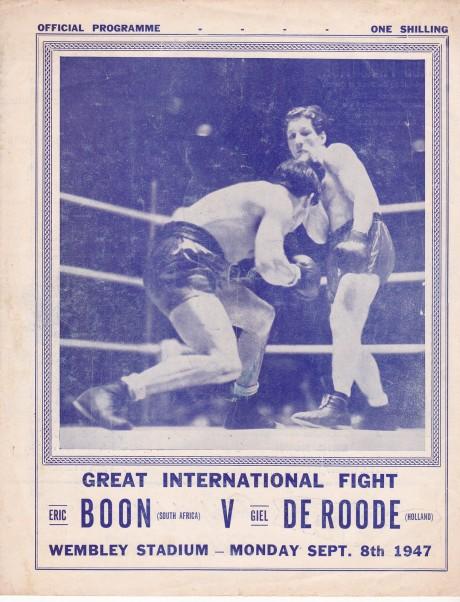 ERIC BOON VS GIEL DE ROODE