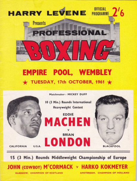 Eddie Machen vs Brian London
