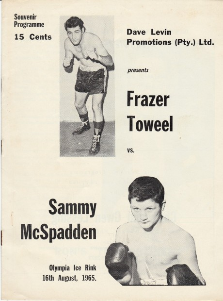 FRAZER TOWEEL   VS  SAMMY McSPADDEN